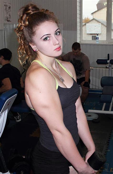 nudge women meet julia vins the 18 year old russian muscle barbie