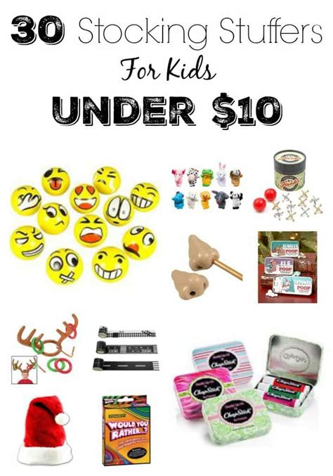 Decorate Your Home On A Budget 30 stocking stuffers for kids that are all under 10