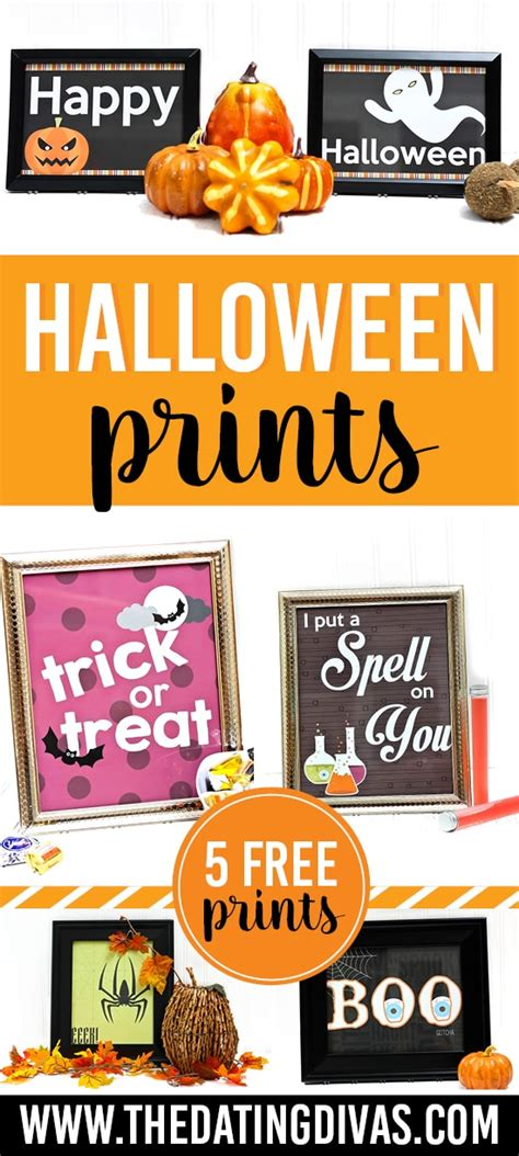 printable halloween wall decorations free printable halloween prints the dating divas