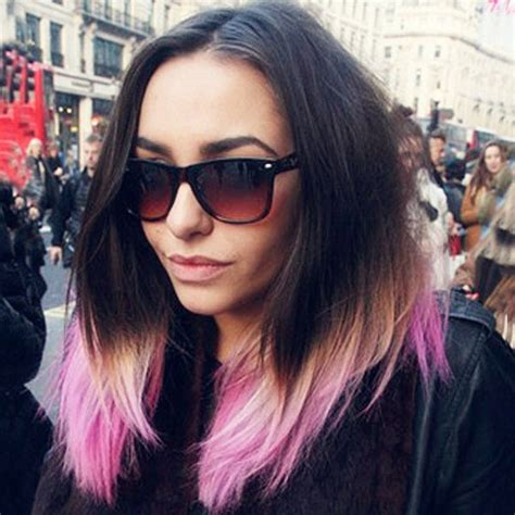 Pink And Black Hairstyles by Black Purple Ombre Hair Archives Vpfashion Vpfashion