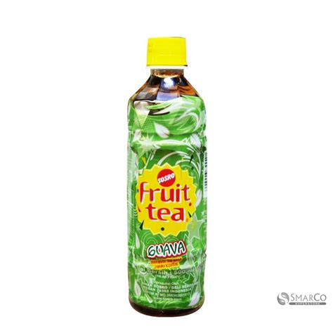 Fruit Tea Botol Detil Produk Fruit Tea Pet Guava Botol 500 Ml 7 X 21