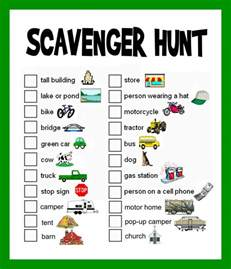 template for scavenger hunt scavenger hunt ideas lists and planning hubpages
