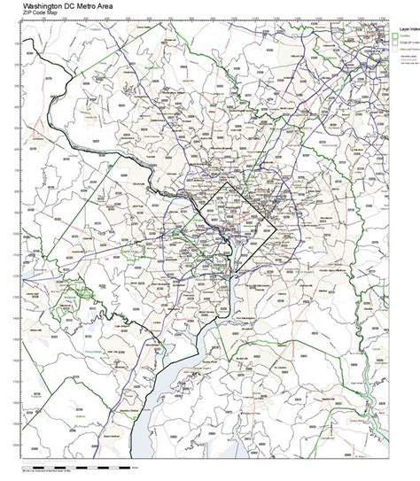 Zip Code Map Dc by Washington Dc Zip Codes Street Submited Images