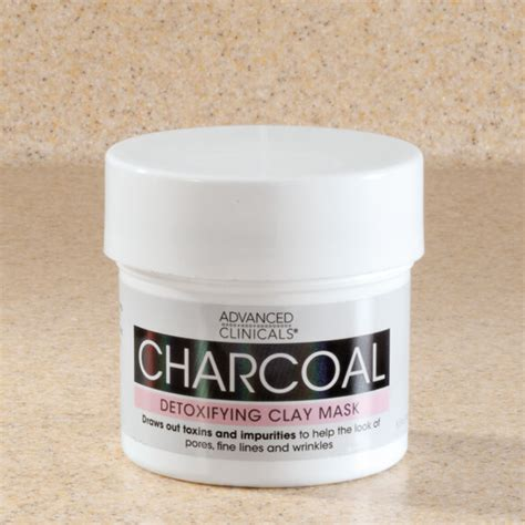 Detox Clay Mask by Advanced Clinicals Charcoal Detoxifying Clay Mask Walter