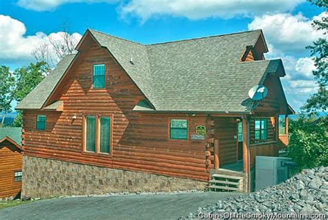 Great Cabin Rentals Pigeon Forge Cabin A Great Smoky Mountain Escape From