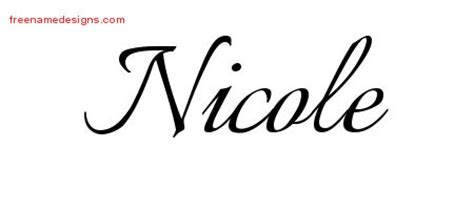 nicole archives page 2 of 2 free name designs