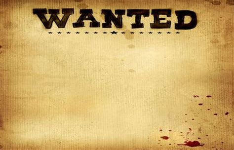 Wanted Poster Background Powerpoint Backgrounds For Free Wanted Poster Powerpoint