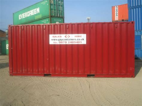 hire a storage container shipping containers for hire uk gap containers ltd