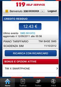 tim 119 mobile tim app 119 per iphone alla versione 2 0 mondo3
