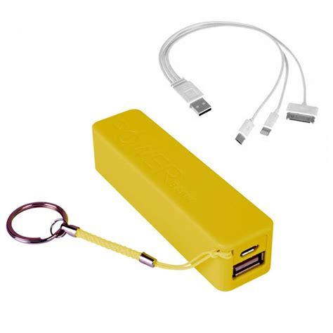 keyring iphone charger yellow power bank portable keyring micro usb apple charger