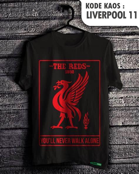 Kaos Sablon Liverpool 11 Jx41 Oblong Distro cara membuat desain sablon baju