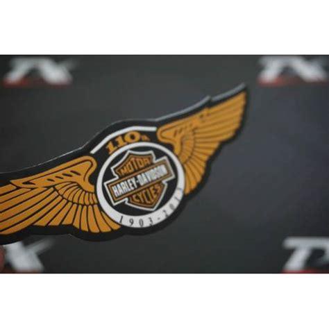 harley davidson yil logo motosiklet metal amblem