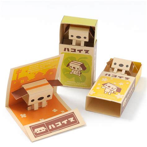 Pop Up Papercraft - hakoinu pop up matchbox papercraft kit tokyo otaku mode shop