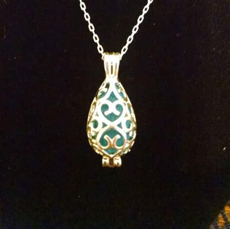 oil diffuser necklace mermaid tear essential oil diffuser necklace