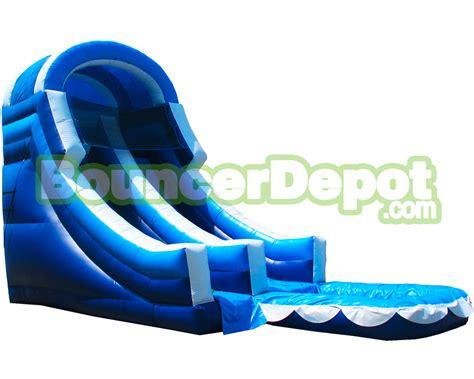 backyard inflatable water slide backyard inflatable water slides 20 feet front load backyard inflatable water slide