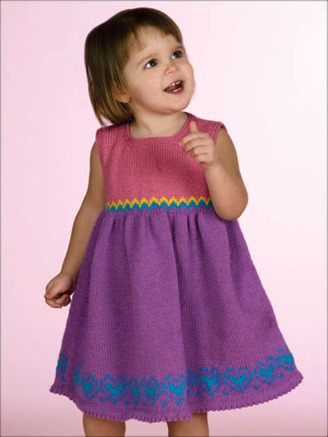pattern dress child little sweetheart