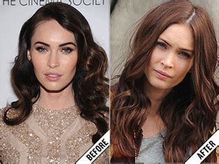 up load pitures for hairstyle the makeover poll megan fox s auburn hair color stylecaster