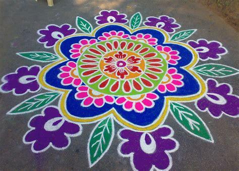 Best Wps220 White N Green Dot Flower Wallpaper Dinding Walpaper easy rangoli designs for bhogi