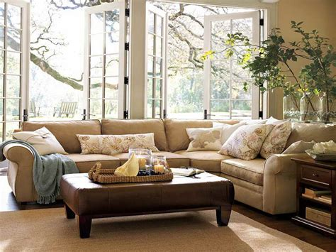 furniture living room pottery barn design