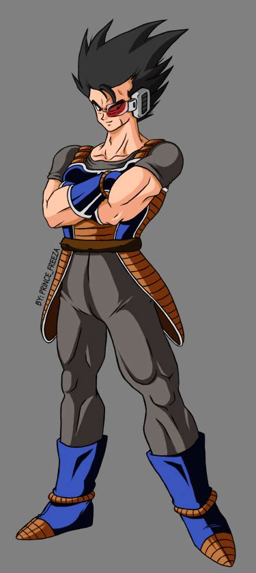 Kaos Capsule B C low class saiyan by prince freeza on deviantart