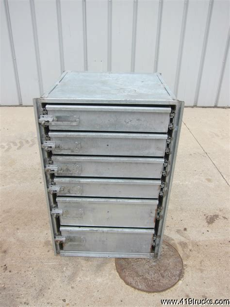 Service Truck Tool Box Drawers by Mechanics Service Utility Truck Steel Slide Out Six 6
