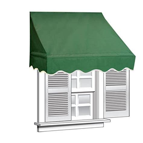 Aleko Awning Installation Aleko 6x2 Green Window Awning Door Canopy 6 Foot Decorator