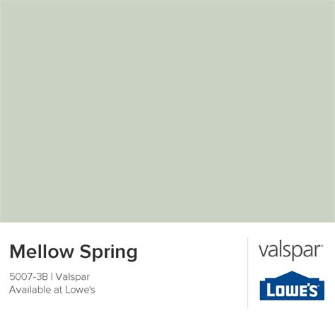mellow from valspar these are a few of my favorite things