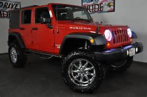 2011 jeep wrangler unlimited rubicon 4wd supercharged lift