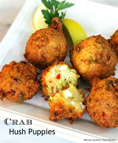crab hush puppies crab hush puppies melissassouthernstylekitchen
