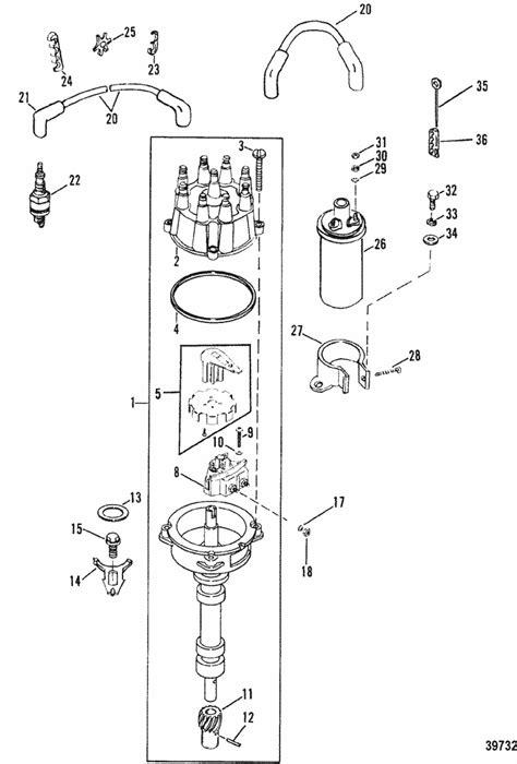 mercruiser  bravo gm      distributor ignition components parts