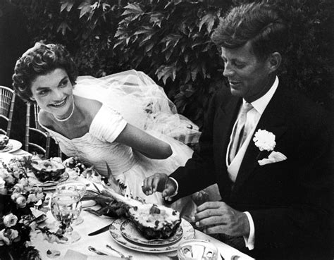 a pictorial biography of john f kennedy and his family 26 candid photographs from the wedding of john f kennedy