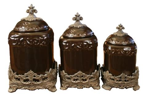 tuscan style kitchen canister sets tuscan kitchen canister sets drake design 3555 large