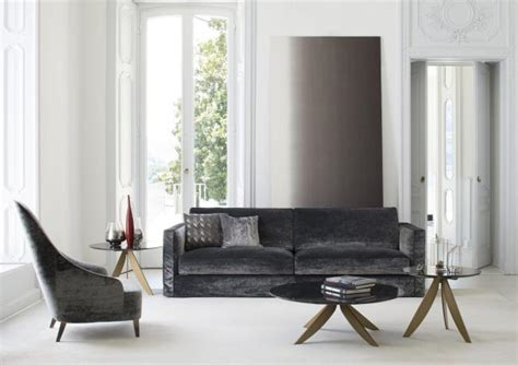 divano velluto divano in velluto danton berto salotti
