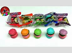 Spongebob Squarepants Candy Gummy Krabby Patties Colors ... Now And Later Candy Flavors