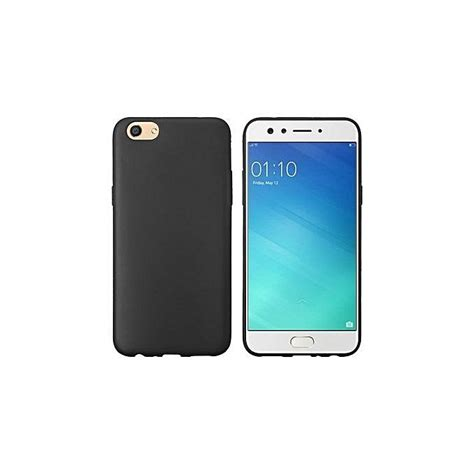 Soft Anti Oppo A71 generic oppo a71 back cover silicone rubber finish black