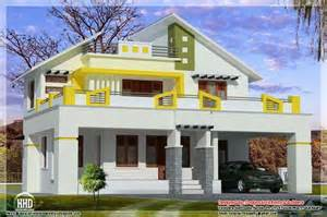 Modern Style Home by August 2012 Kerala Home Design And Floor Plans
