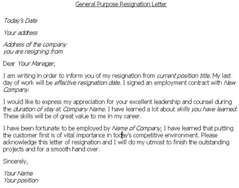 Writing Resignation Letter Tips On Writing A Letter Of Resignation Professionallybusinessprocess