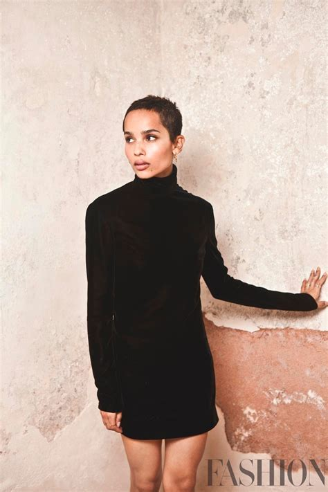 actress zoe kravitz zoe kravitz fashion magazine march 2018 cover photoshoot