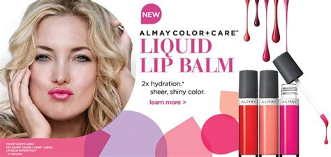 Sponsor Ad New Cosmetics Lip Shine by Judicial Review Almay Color Care Liquid Lip Balm In