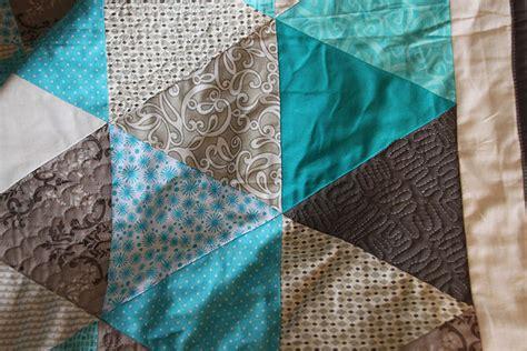 Muster Quilten Quilt Aqua Und Grau