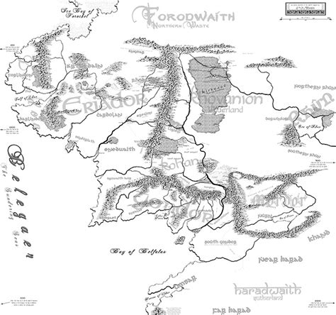 map of the middle earth from doom to the middle earth our top 10 maps
