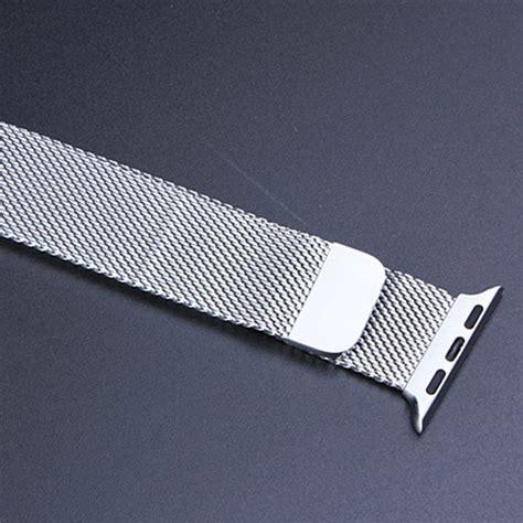 New Apple Hoco Milanese Loop Silver 1 купить ремешок для часов rcs apple 42 38 с бесплатной доставкой