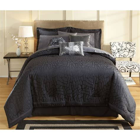 sofia vergara bedding sofia by sofia vergara black magic comforter set home
