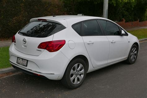 Opel Astra Turbo by File 2012 Opel Astra As 1 4 Turbo 5 Door Hatchback 2015