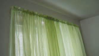 Sheer Green Curtains Lime Green Curtains Sheer Large 1 Or 2 Panels Window Or Door