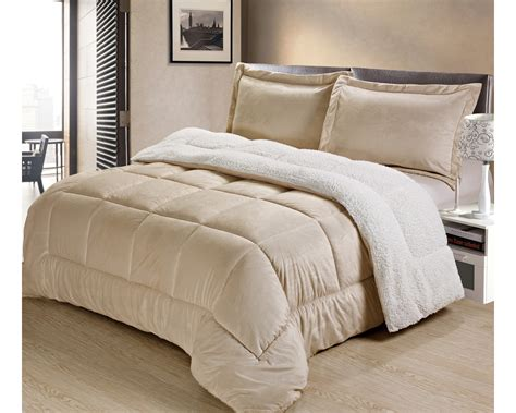 plush comforter ultra plush sherpa comforter shams