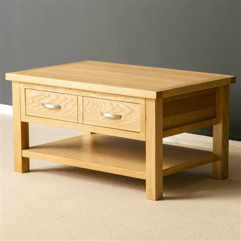 London Oak Coffee Table Light Oak Lounge Table Solid Oak Furniture Coffee Tables