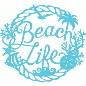 Silhouette design store view design 84494 beach life