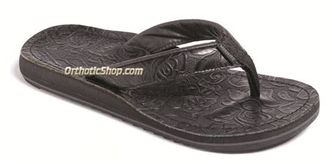 moszkito sandals moszkito archy tooled black support flip flops