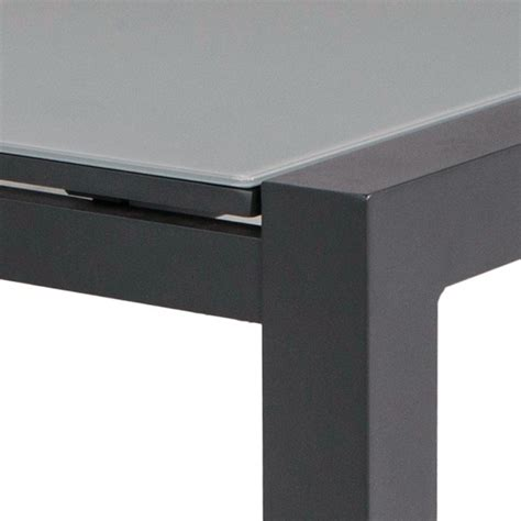 Impressionnant Table De Jardin Alu #1: Table-alu-anthracite-verre-gris-murray-97230.jpg